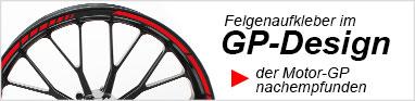 Felgenaufkleber Schweiz Felgenrandaufkleber GP Design