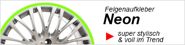 Felgenaufkleber Schweiz Felgenrandaufkleber Neon