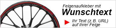 Felgenaufkleber Schweiz Felgenrandaufkleber Wunschtext